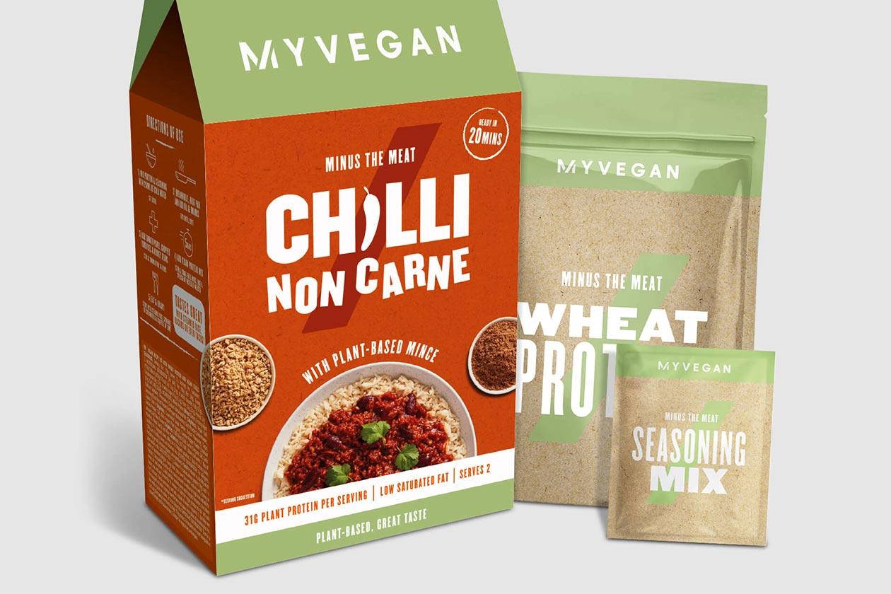 myprotein vegan chilli non carne meal
