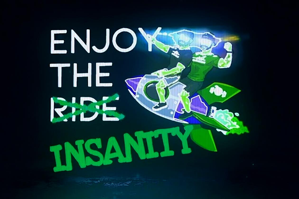 the nutrition store announces enjoy the insanity