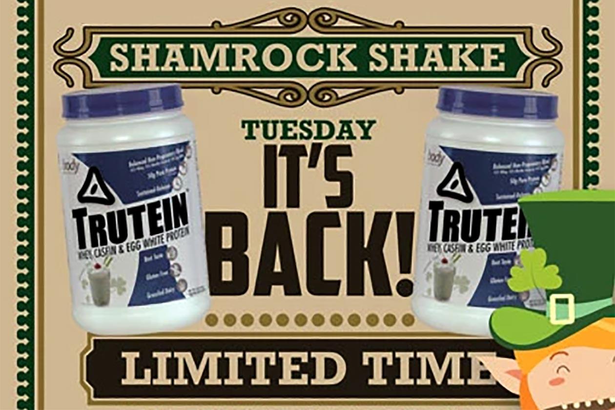 body nutrition shamrock shake trutein
