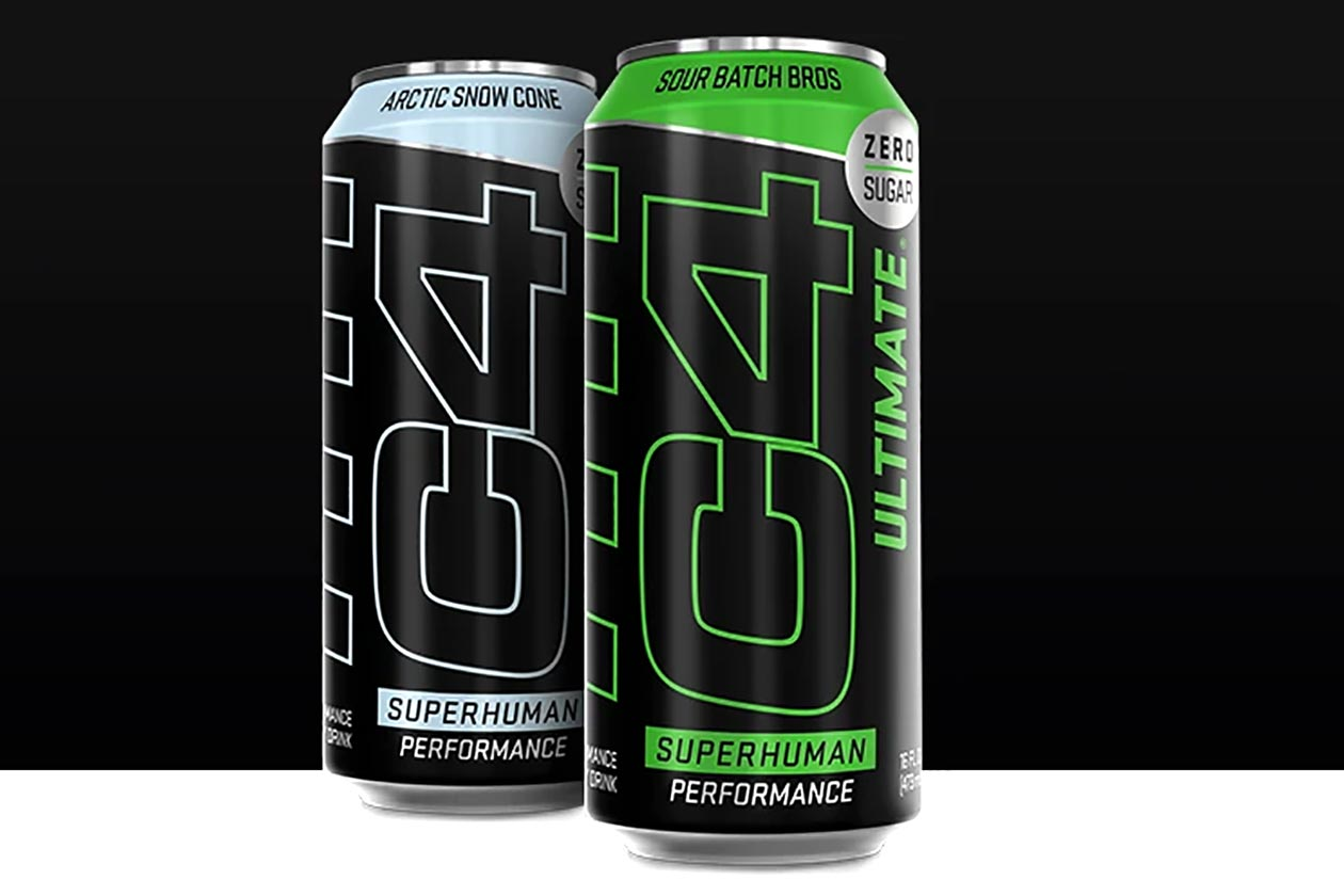 c4 ultimate carbonated