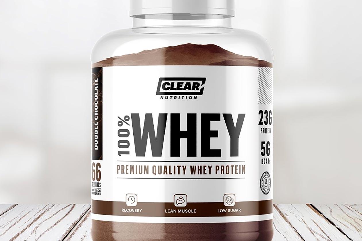 proteína de suero clara de nutrición