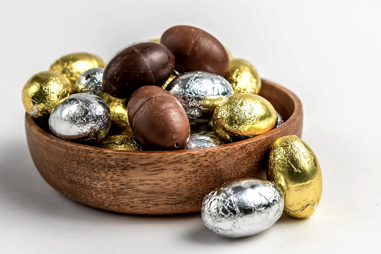 cocoa plus protein chocolate easter products