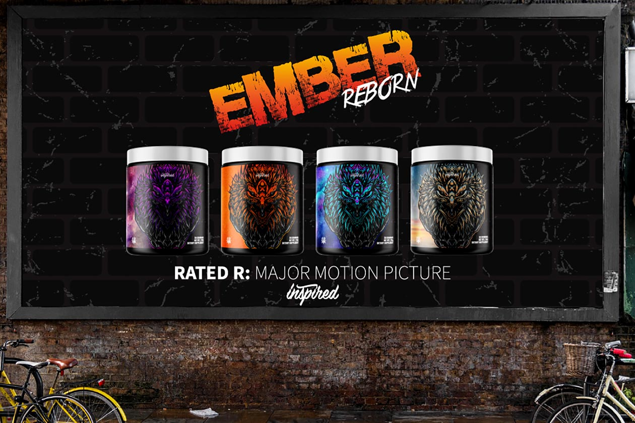 Inspired names the flavors for its highly-anticipated fat burner Ember Reborn