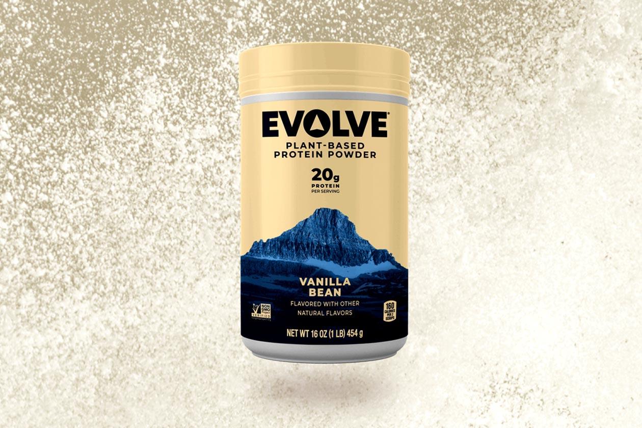 evolve plant based protein powder