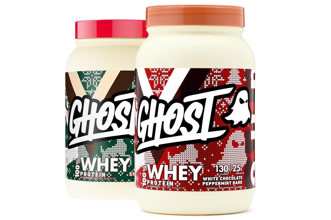 ghost whey christmas flavors return