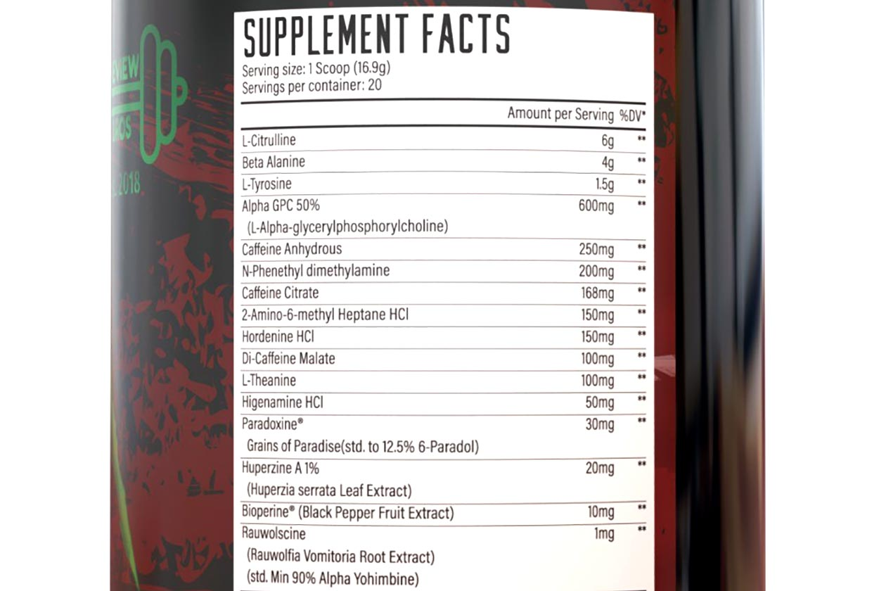 huge nutrition wrecked extreme