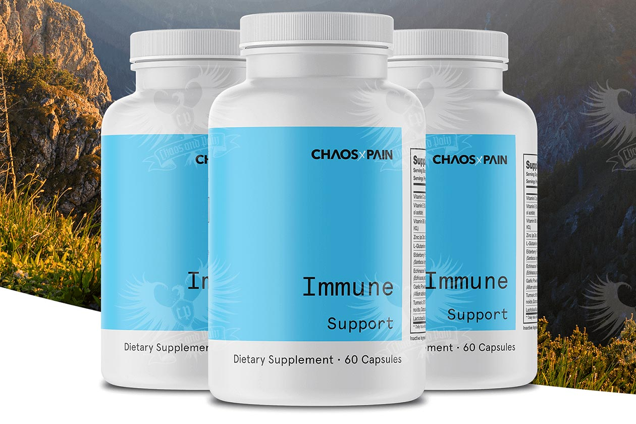 chaos and pain immune support