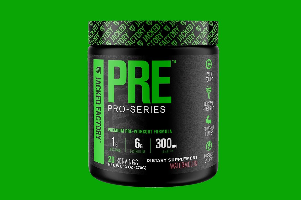 jacked factory pro series pre
