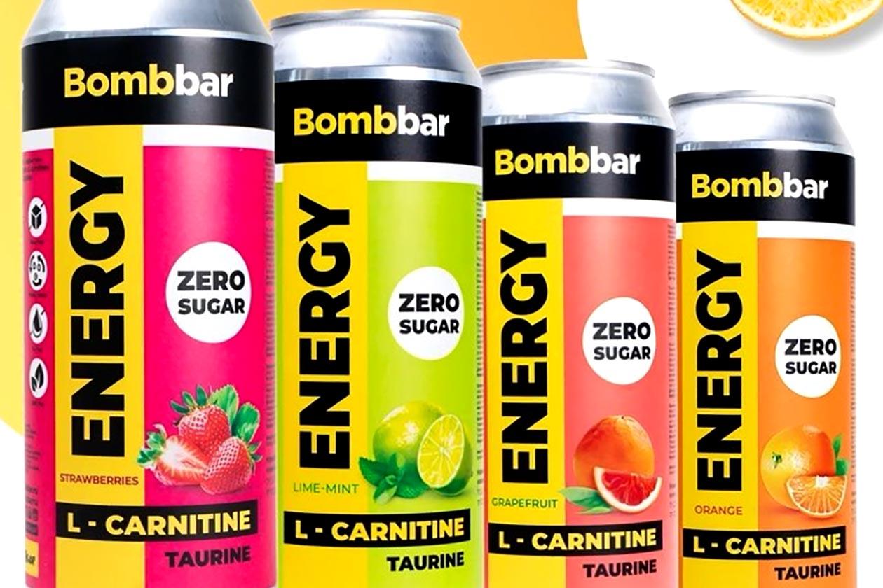 bombbar energy drink