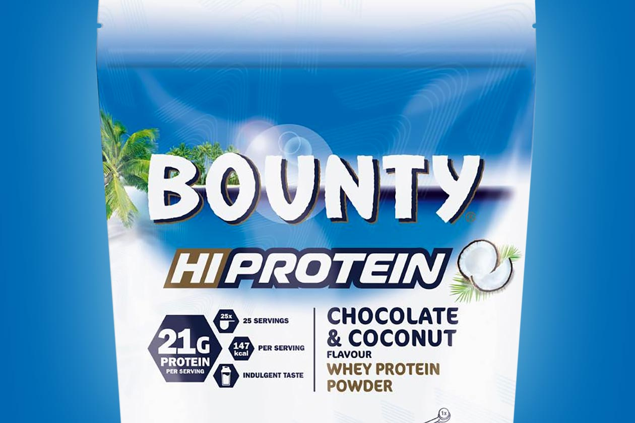 bounty hiprotein powder and bar