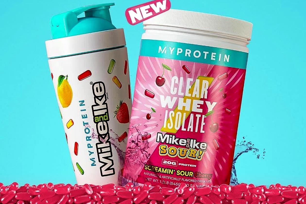 myprotein mike and ikes protein powders