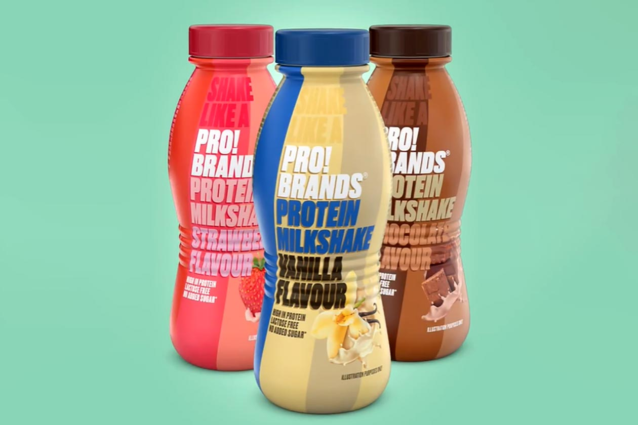 probrands protein milkshake