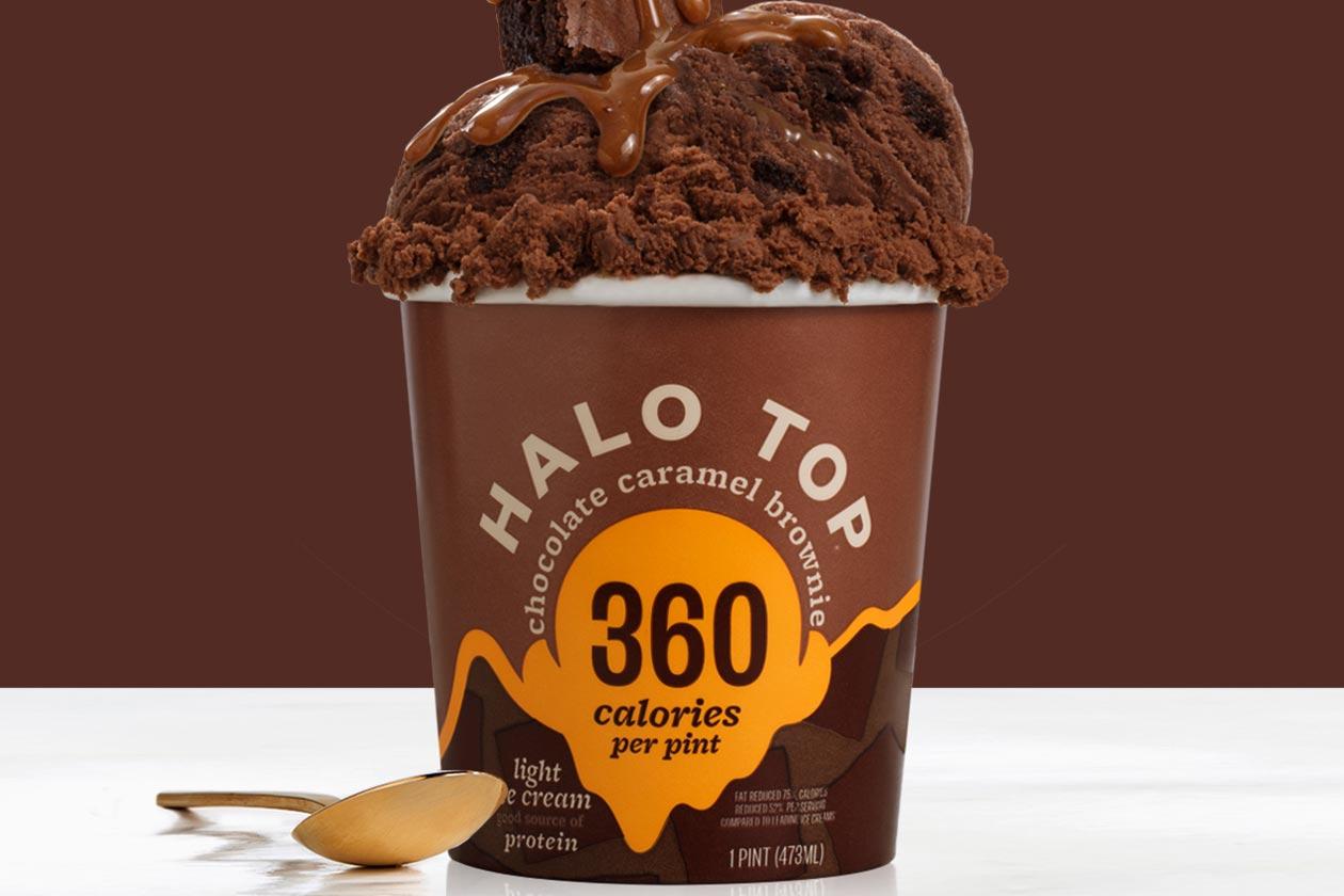 chocolate caramel brownie halo top