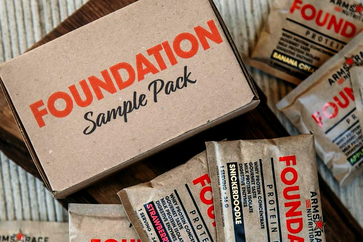 arms race foundation sample pack