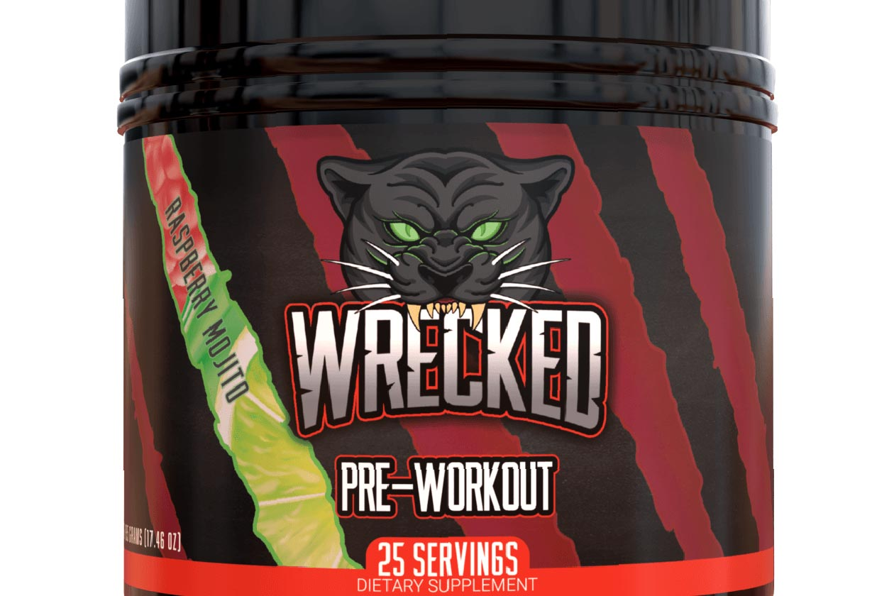 huge nutrition two more flavors of wrecked