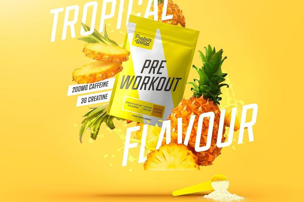 protein world tropical pre-workout
