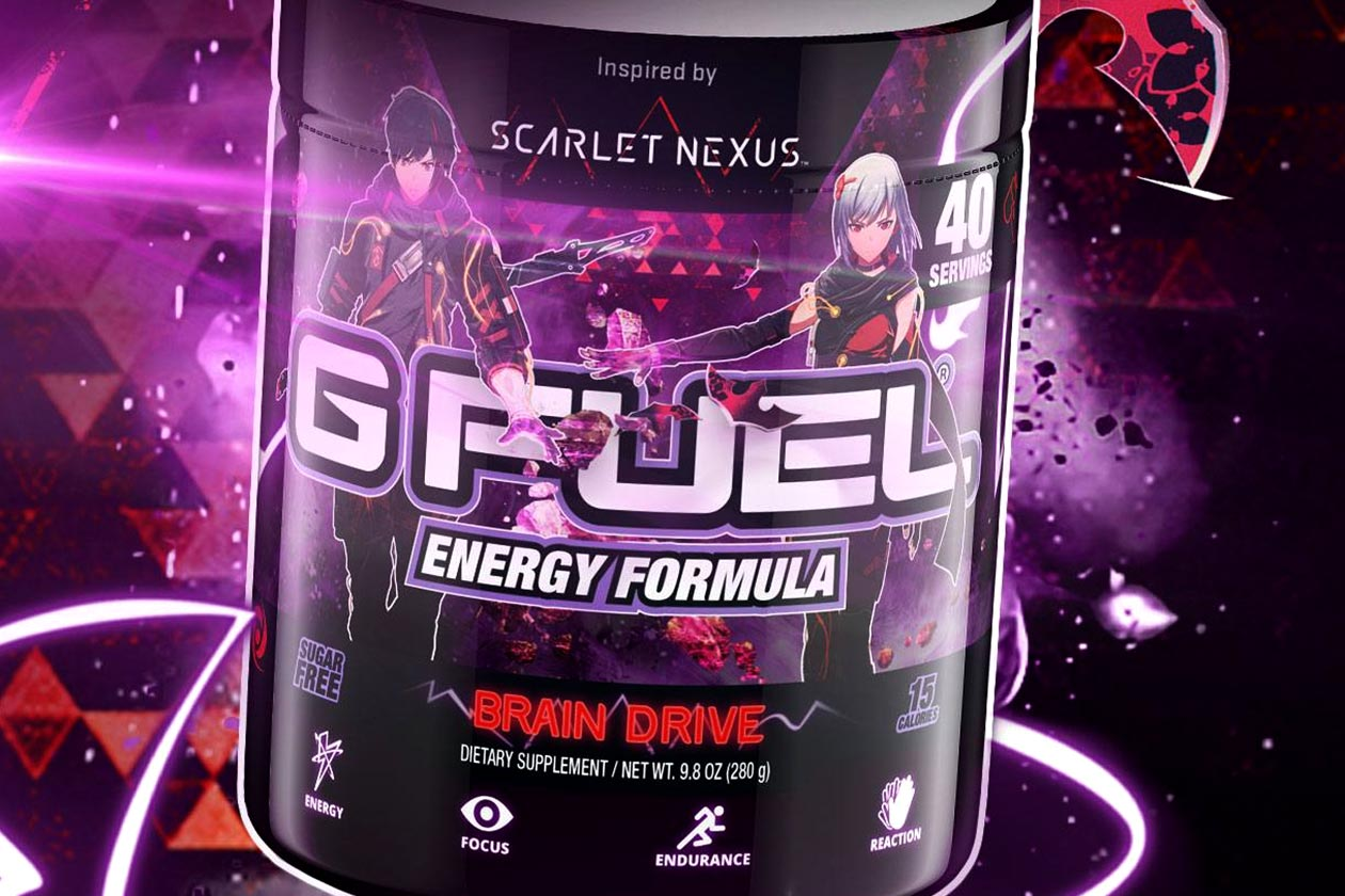 scarlet nexus brain drive g fuel