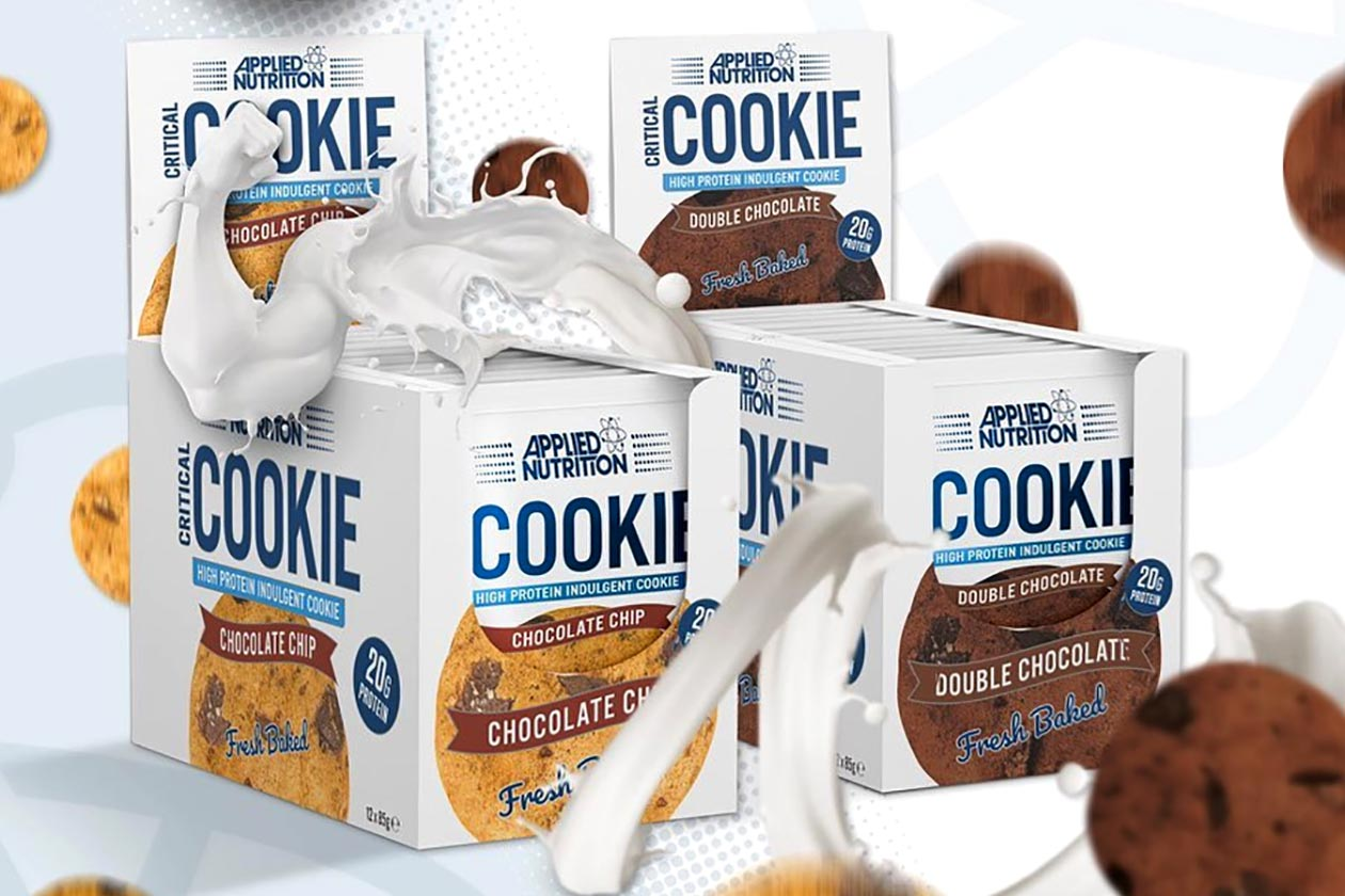 applied nutrition critical cookie