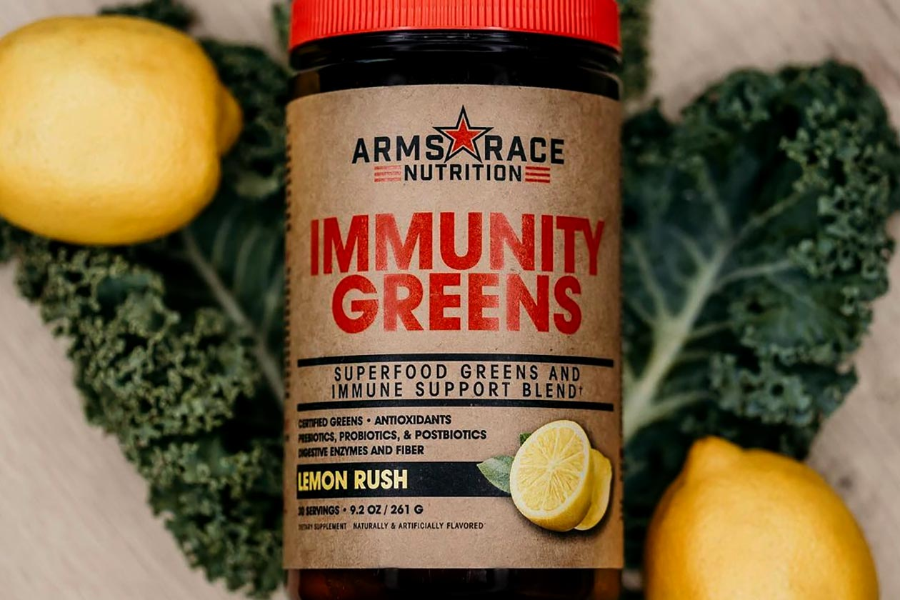 arms race nutrition immunity greens