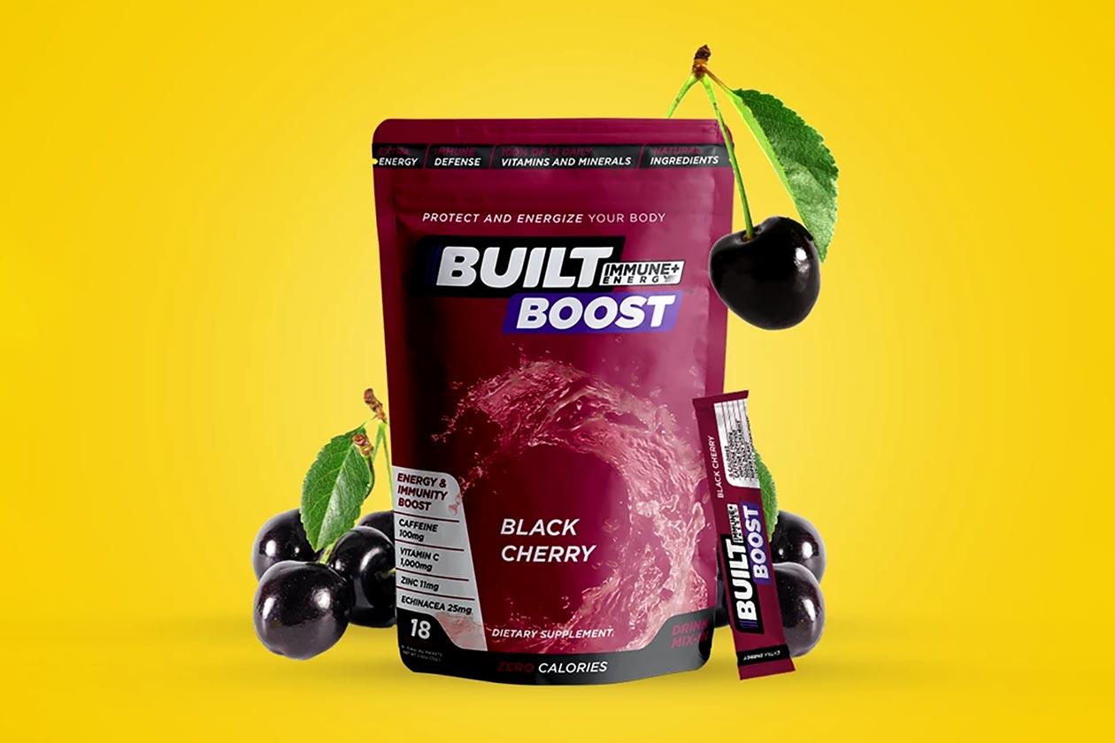 black cherry built boost