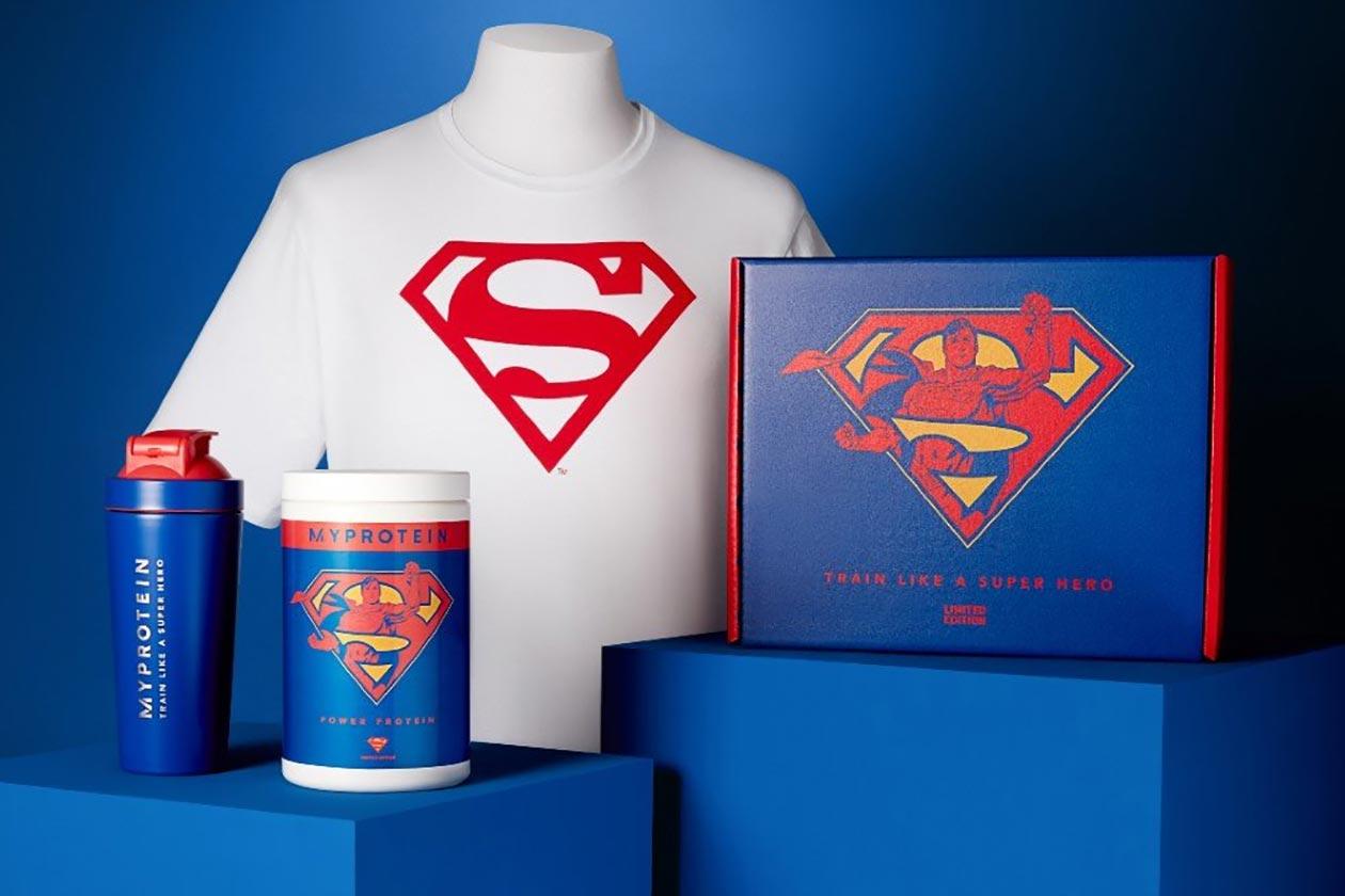 myprotein superman supplements