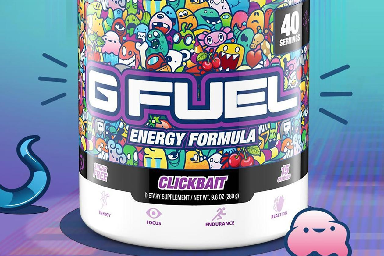 pink drip and clickbait g fuel energy drink
