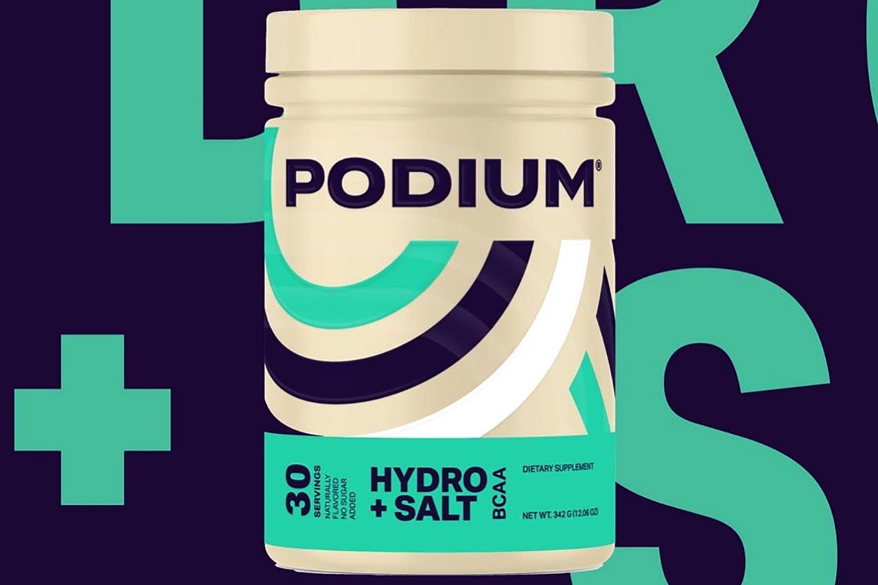 podium hydro salt