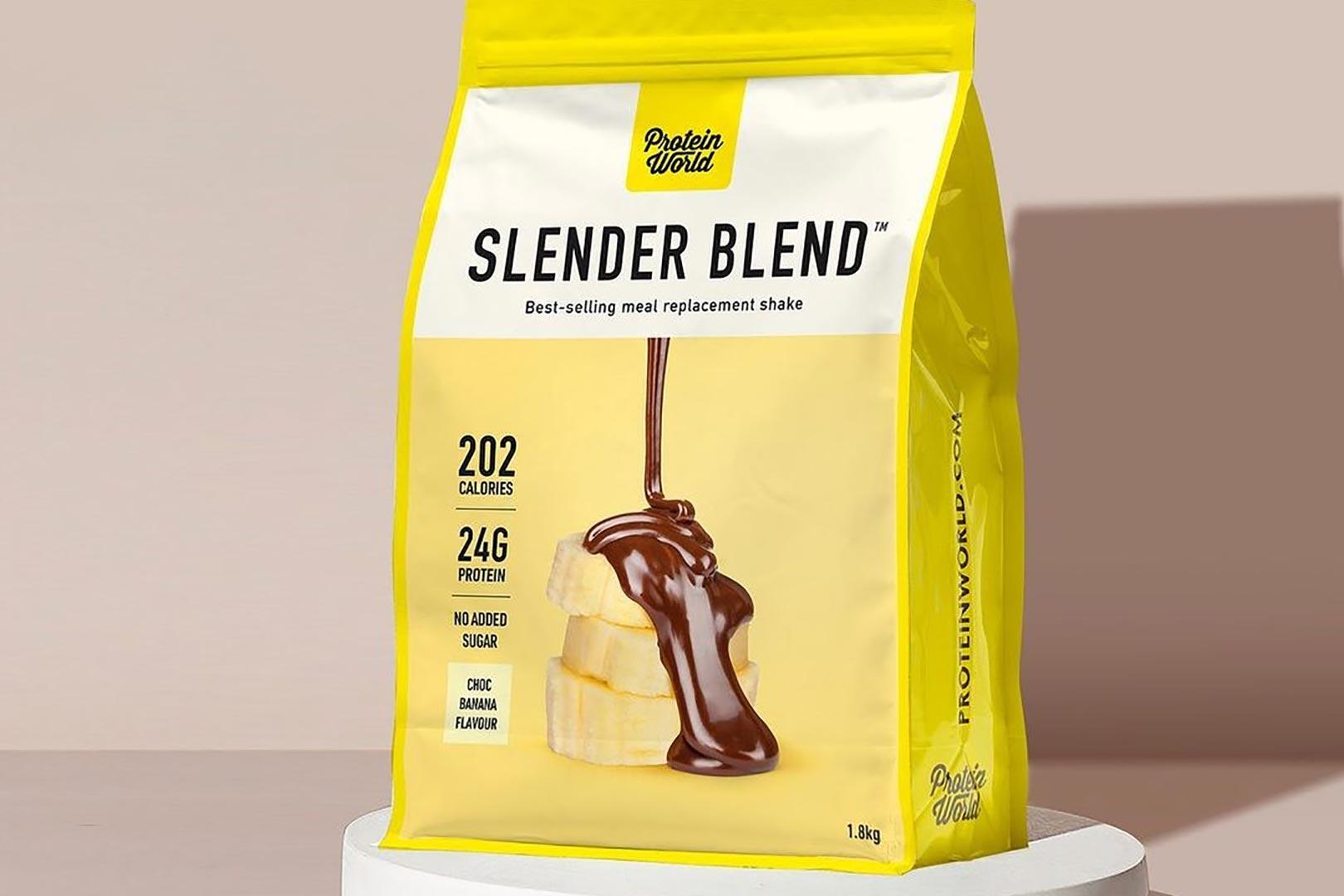 protein world choc banana slender blend