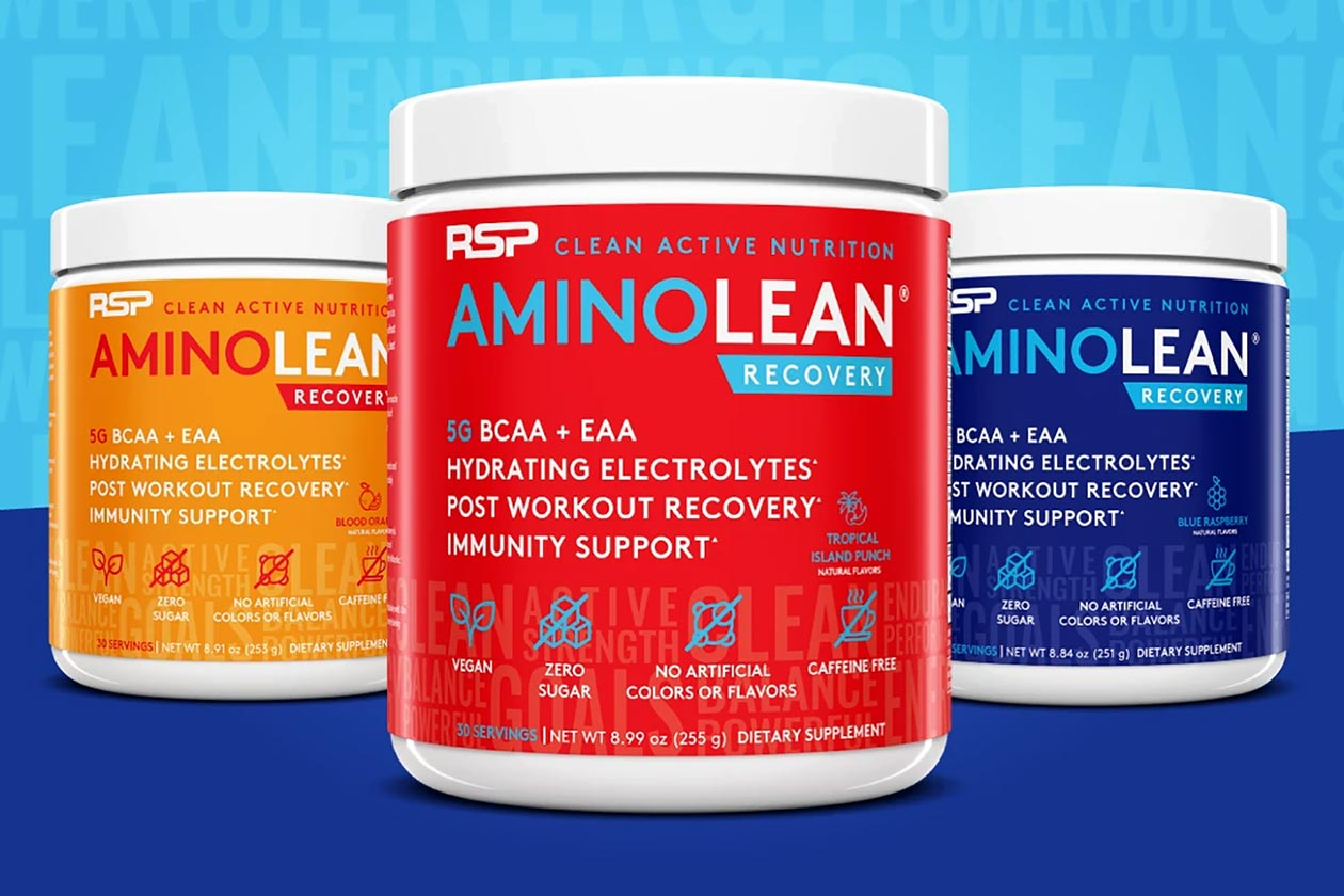 rsp nutrition aminolean recovery