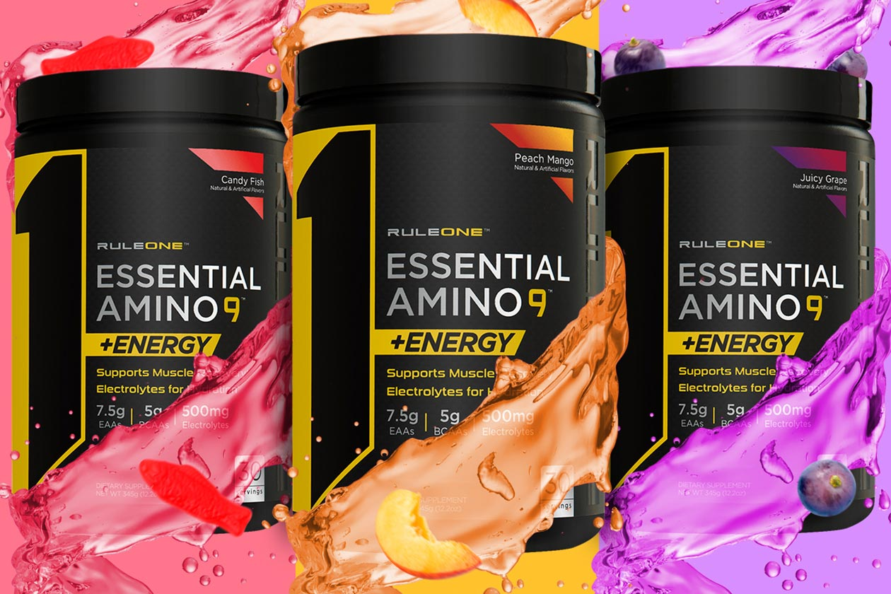 rule one limited essential amino 9 energy flavors