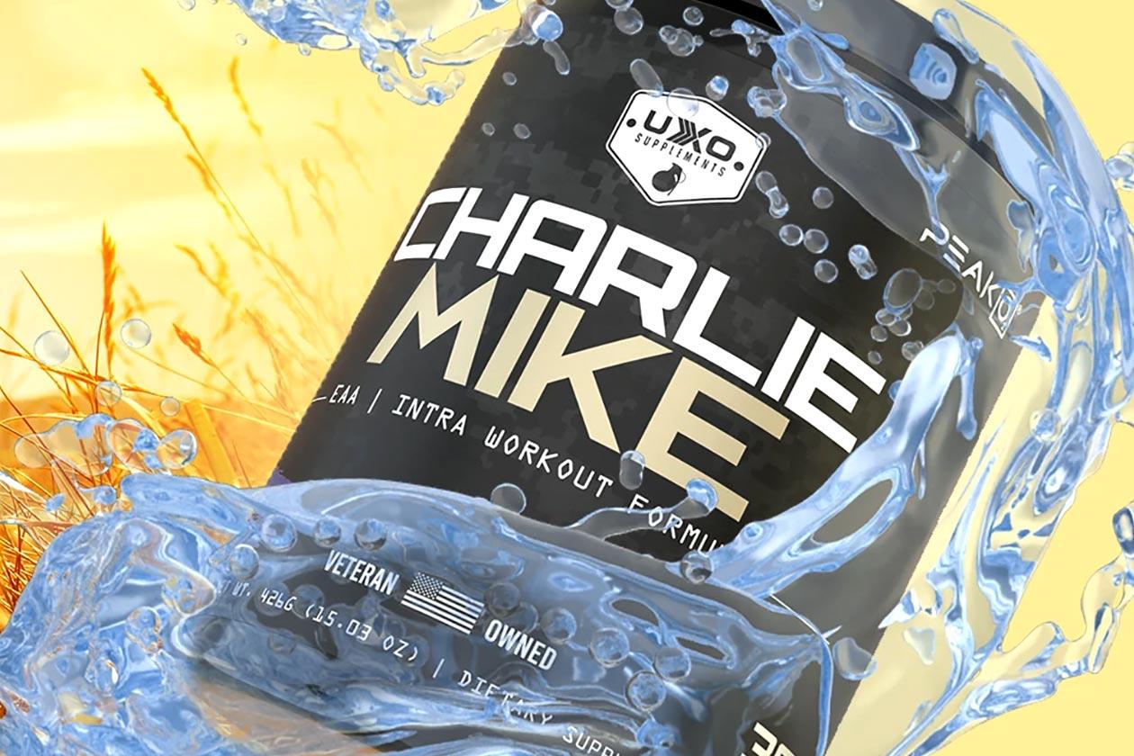 uxo supplements blackberry lemonade charlie mike