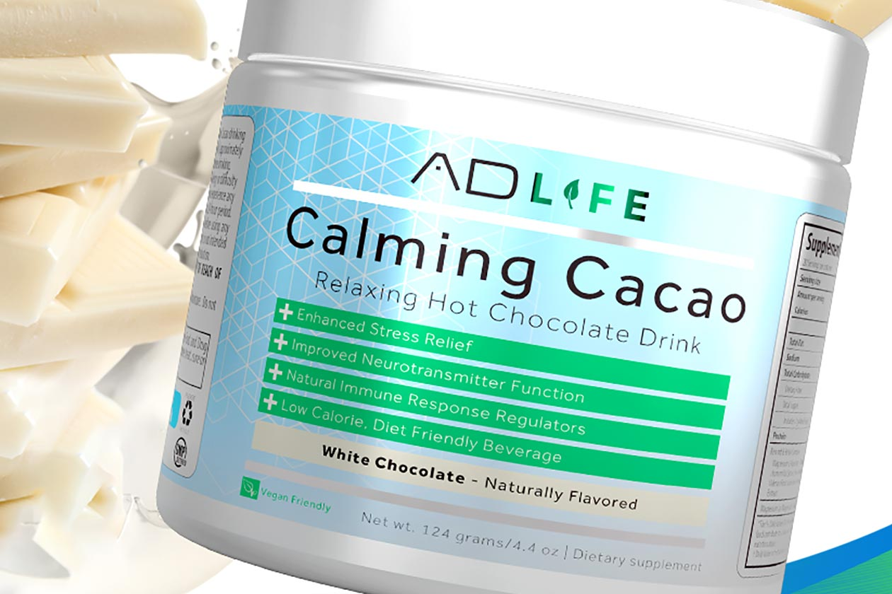 anabolic designs white chocolate calming cacao