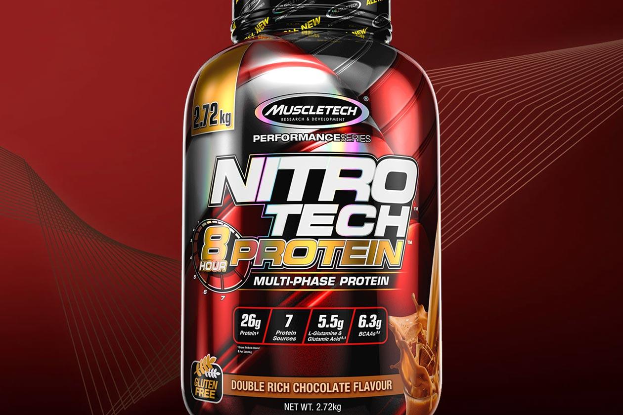 muscletech nitro tech 8 hour protein