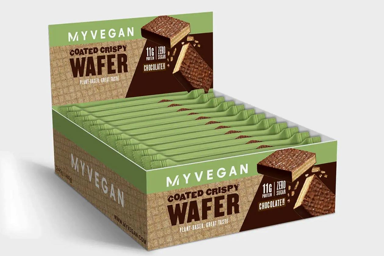 Myprotein Myvegan Coated Crispy Wafer