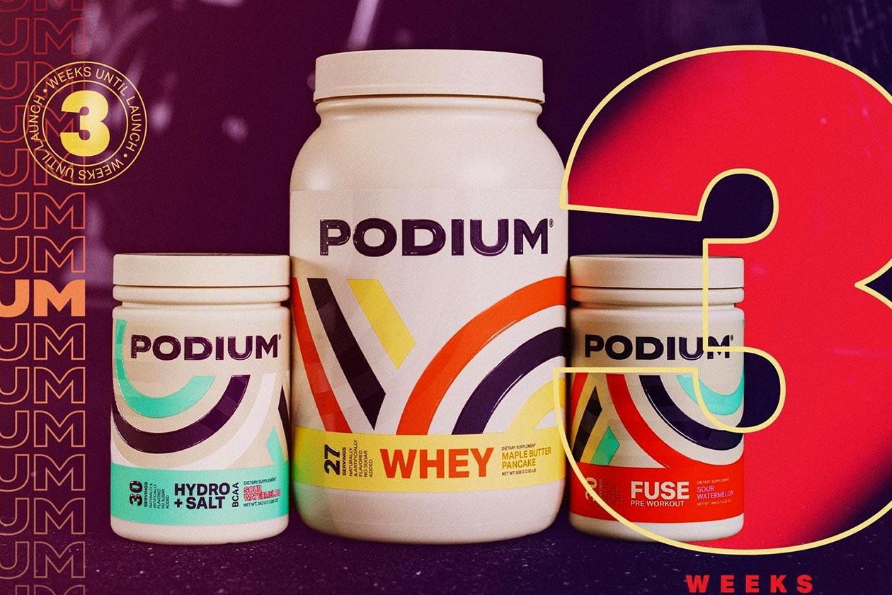 podium nutrition launch date