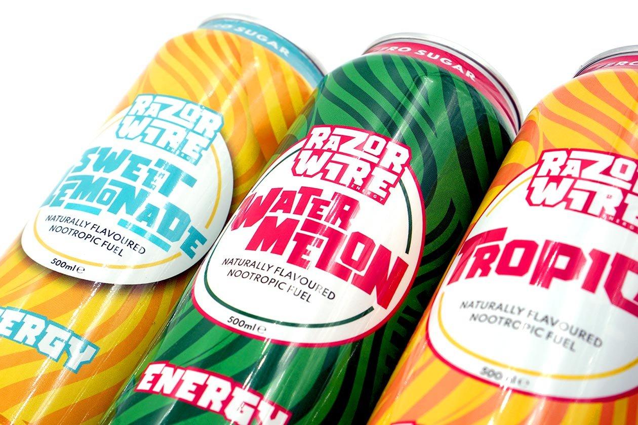 razorwire energy drink review
