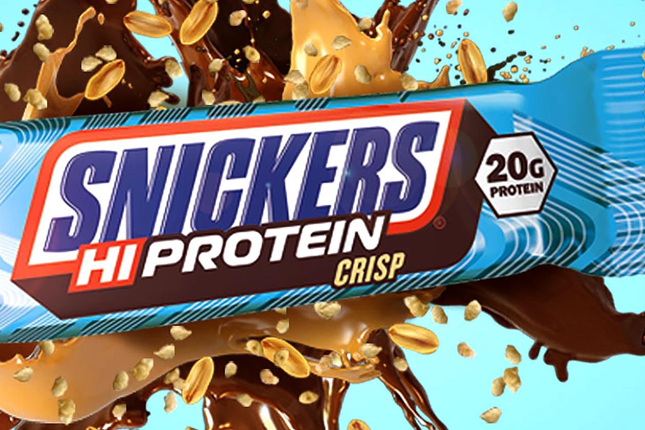 snickers hiprotein crisp