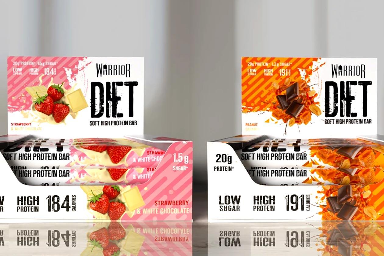 warrior diet protein bar