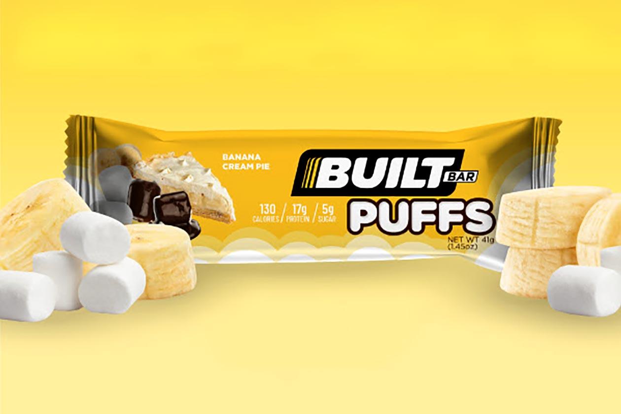 Built Brands Banana Cream Pie Built Puffs