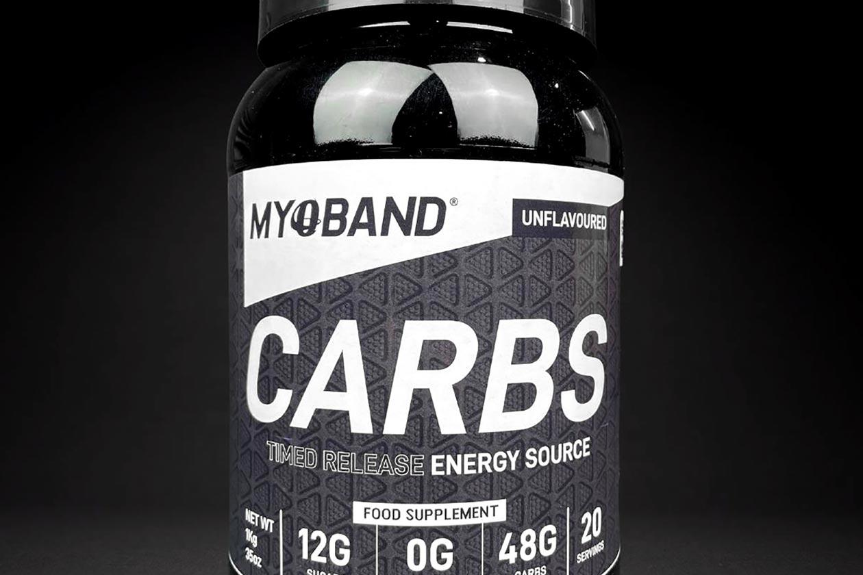 Myoband Carbs