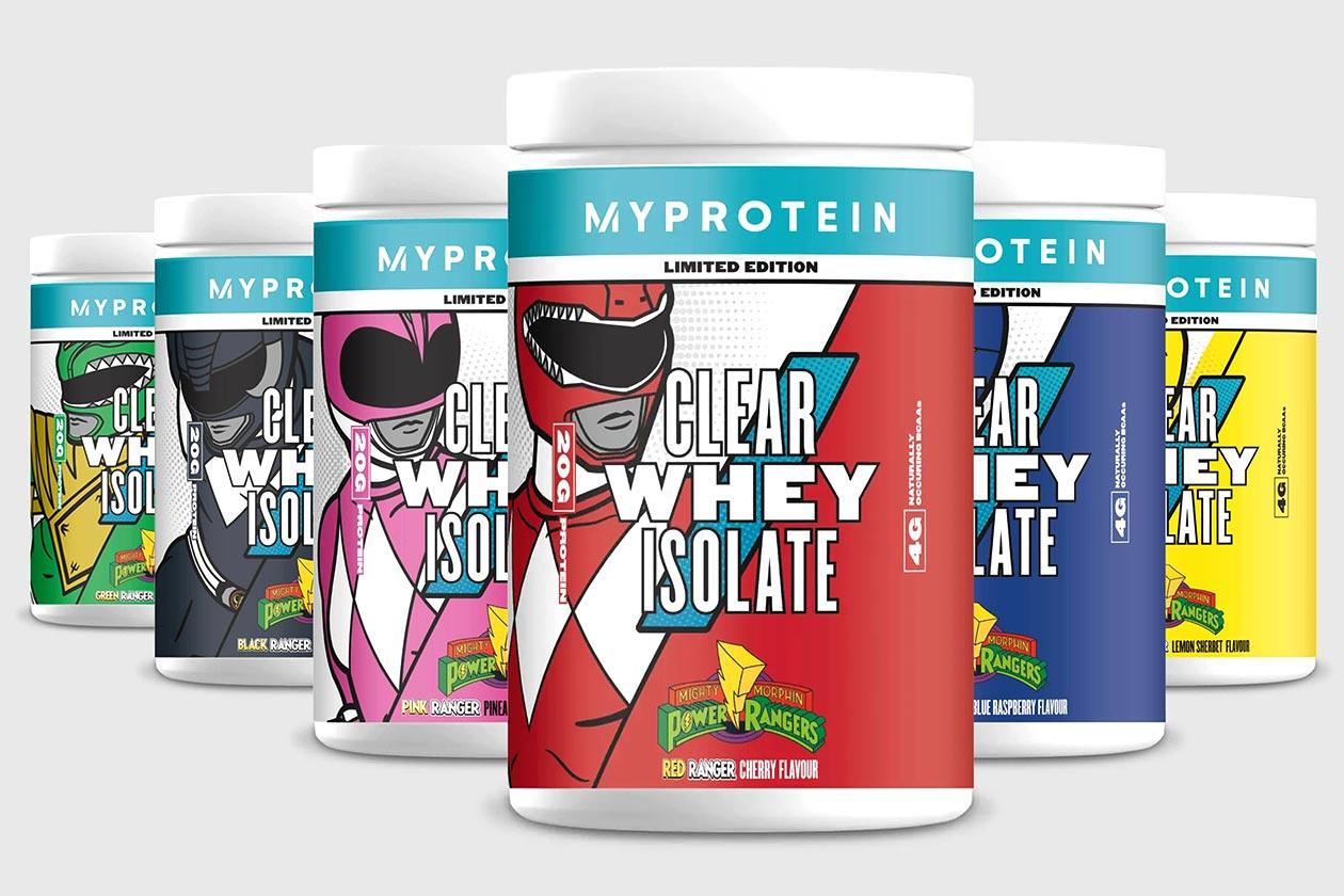 Myprotein Power Ranger Clear Whey Isolate