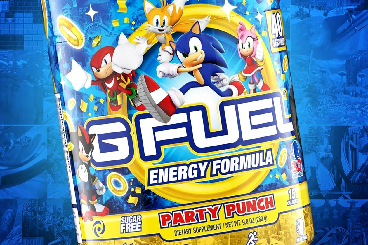 Sonic The Hedgehog Party Punch G Fuel