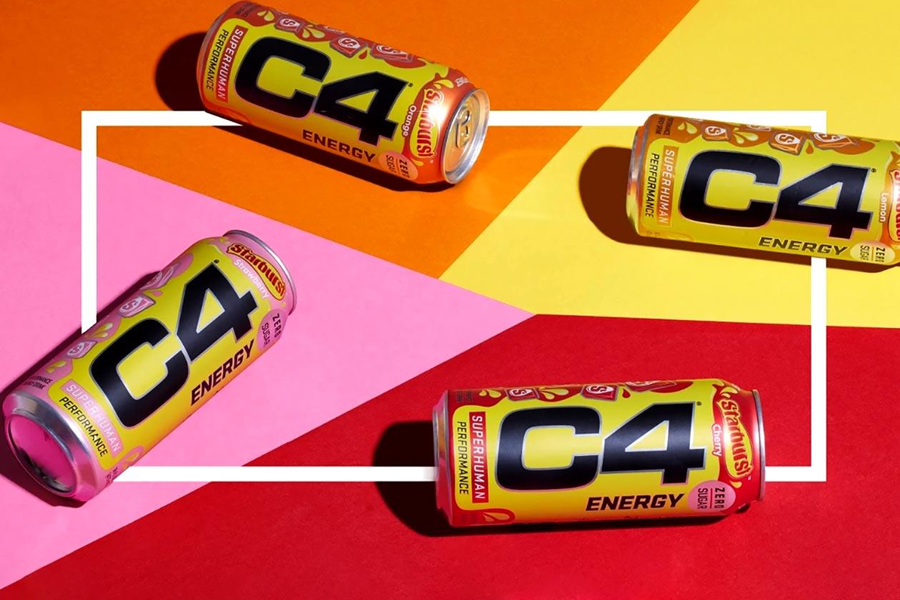 Starburst C4 Energy Drink Giveaway