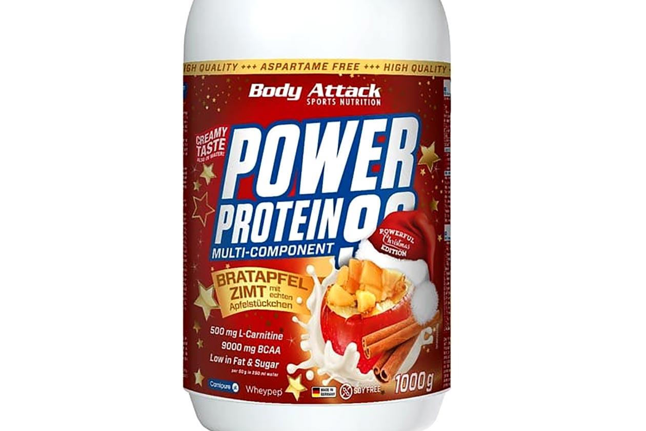 Body Attack Apple Cinnamon Protein Powder
