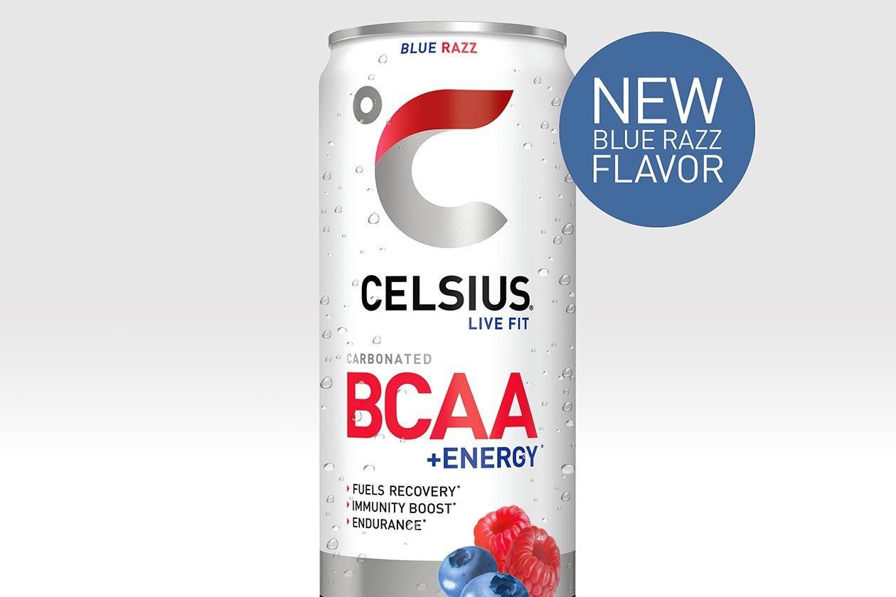 Celsius Blue Razz Bcaa Energy