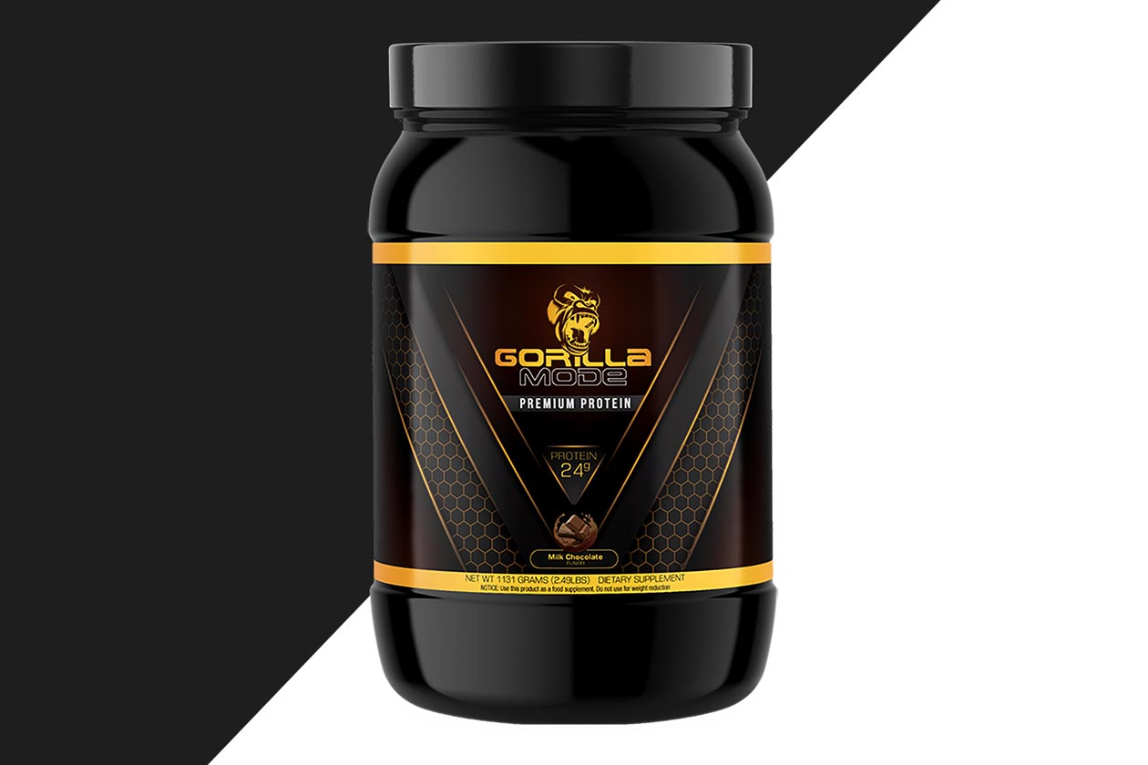 Gorilla Mode Protein Powder
