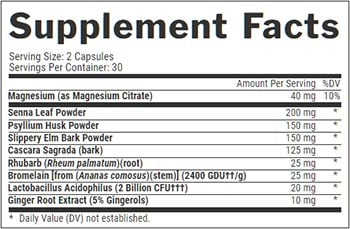 Nutrex Lipo 6 Black Cleanse And Detox Label