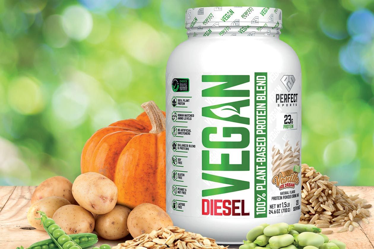 Perfect Sports Diesel Vegan Protein
