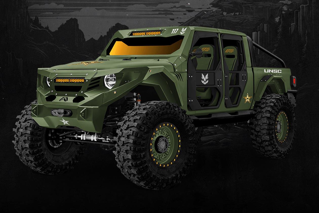 Rockstar Energy Halo Infinite Jeep Gladiator