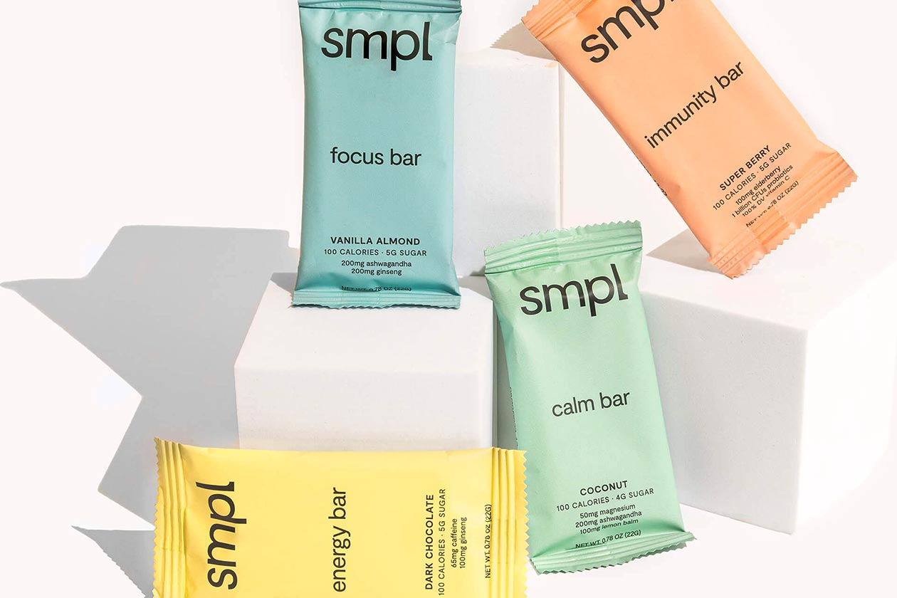Introducing Smpl and its creative family of functional multi-benefit snack bars